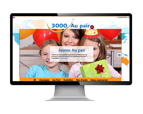 reference site web 3000aupair.com