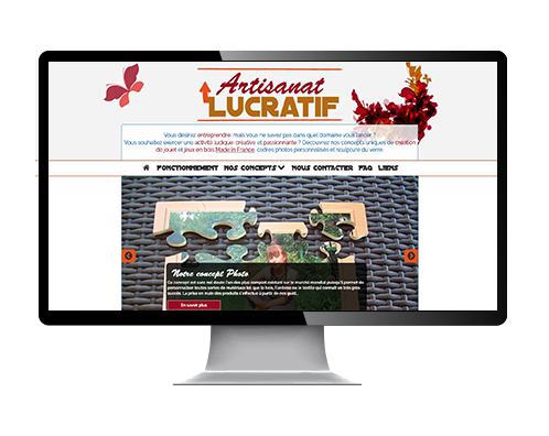 reference site web artisanat-lucratif.com