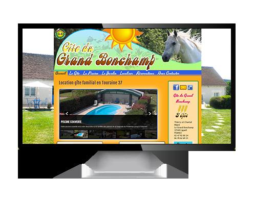 Création de sites web pour gîtes